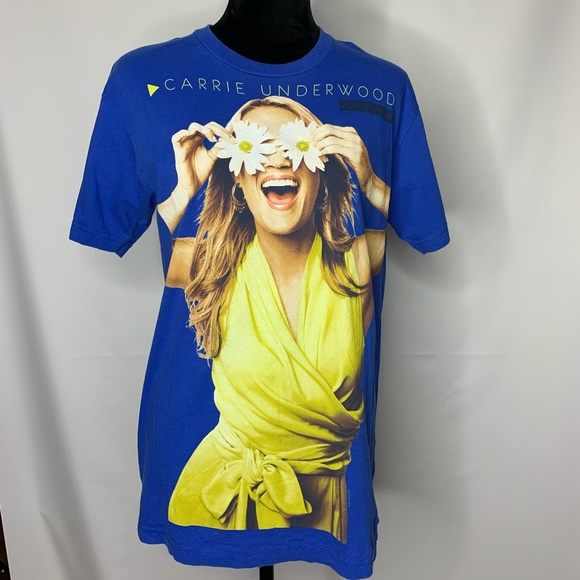 American Apparel Tops - Carrie Underwood Play On Tour T-shirt, EUC